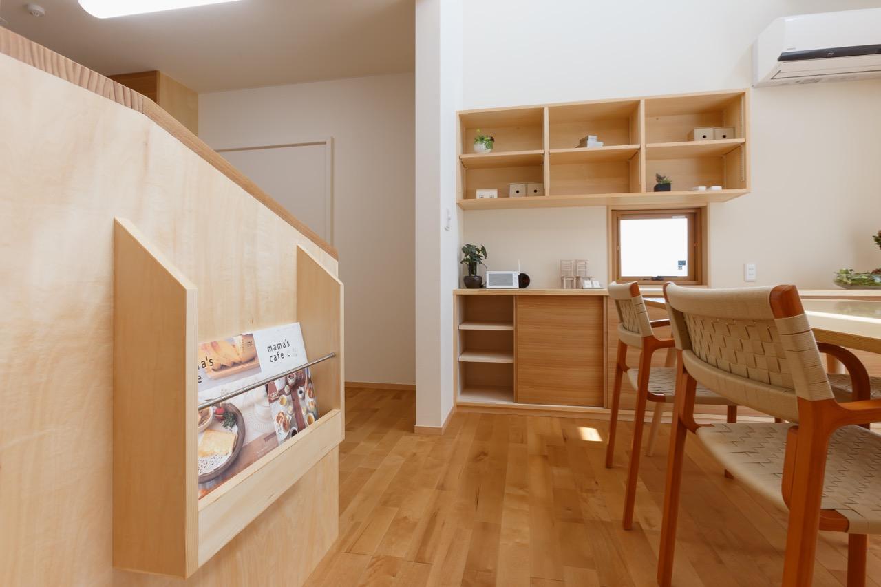 造り付け収納は室内に統一感をもたらします