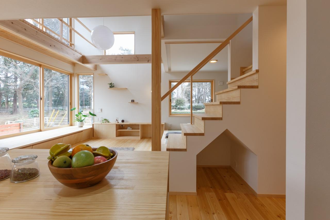 階段下は利用価値ある空間に
