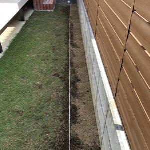 芝生の張り替え