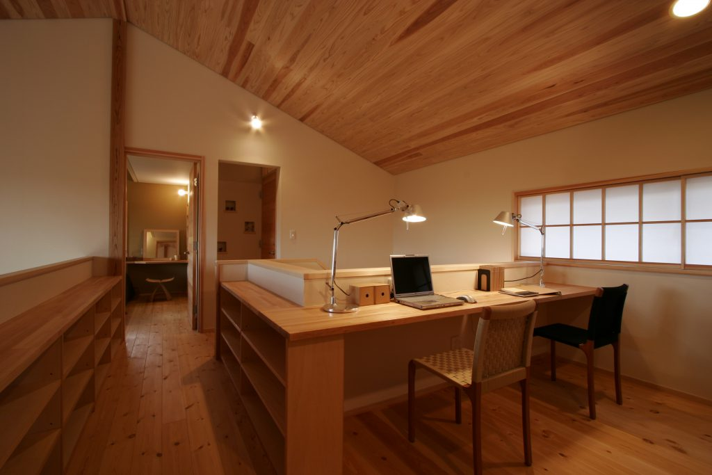 木の家の建築実例(内装)
