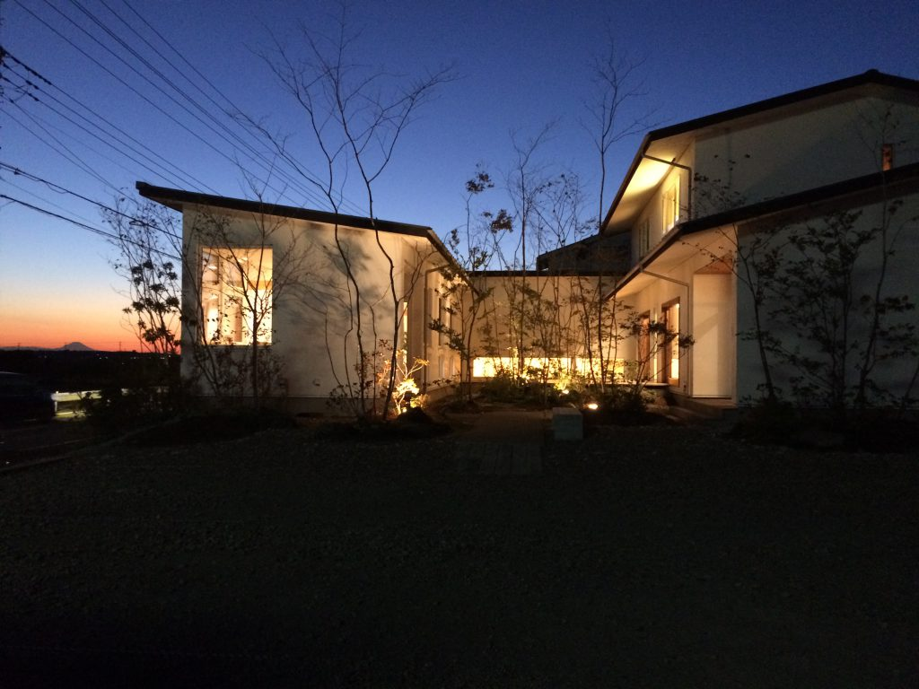 50坪の土地に家を建てた建築実例