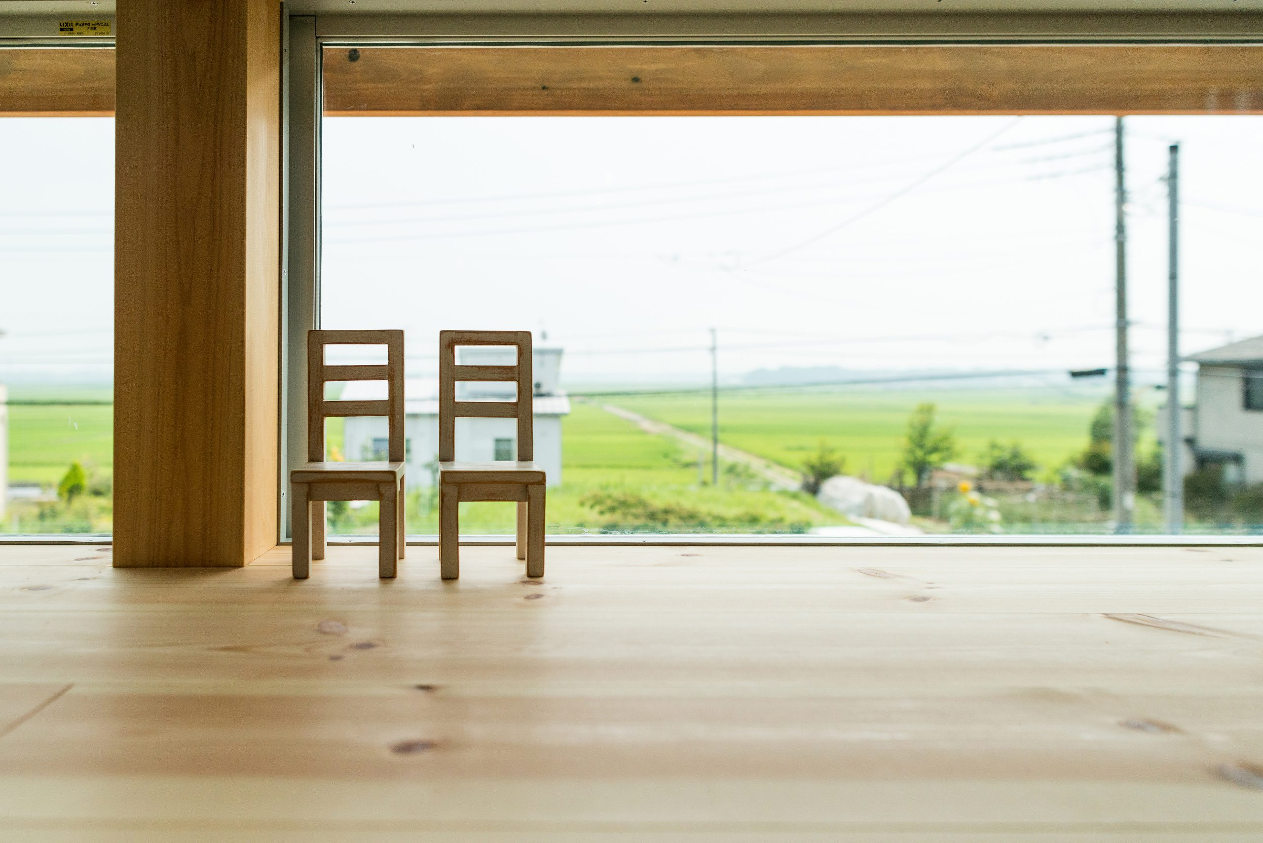 千葉県郊外の土地は田園風景も広がる