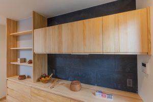 キッチン背面収納 日建ホーム