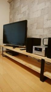 造作テレビボード 日建ホーム