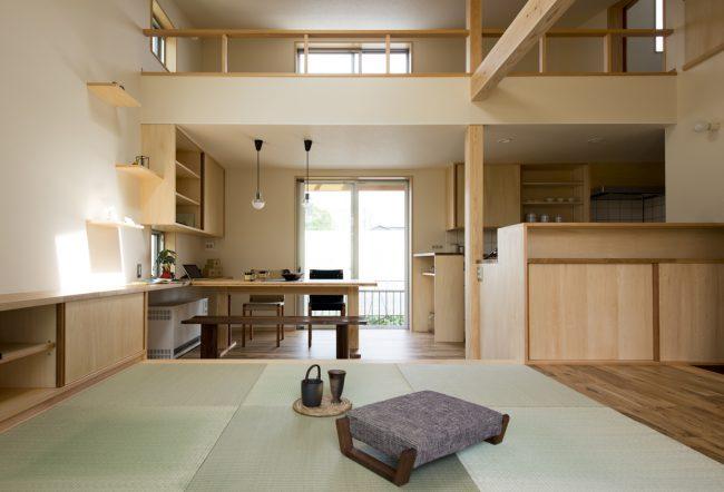 二世帯住宅(一部共用型)の内観